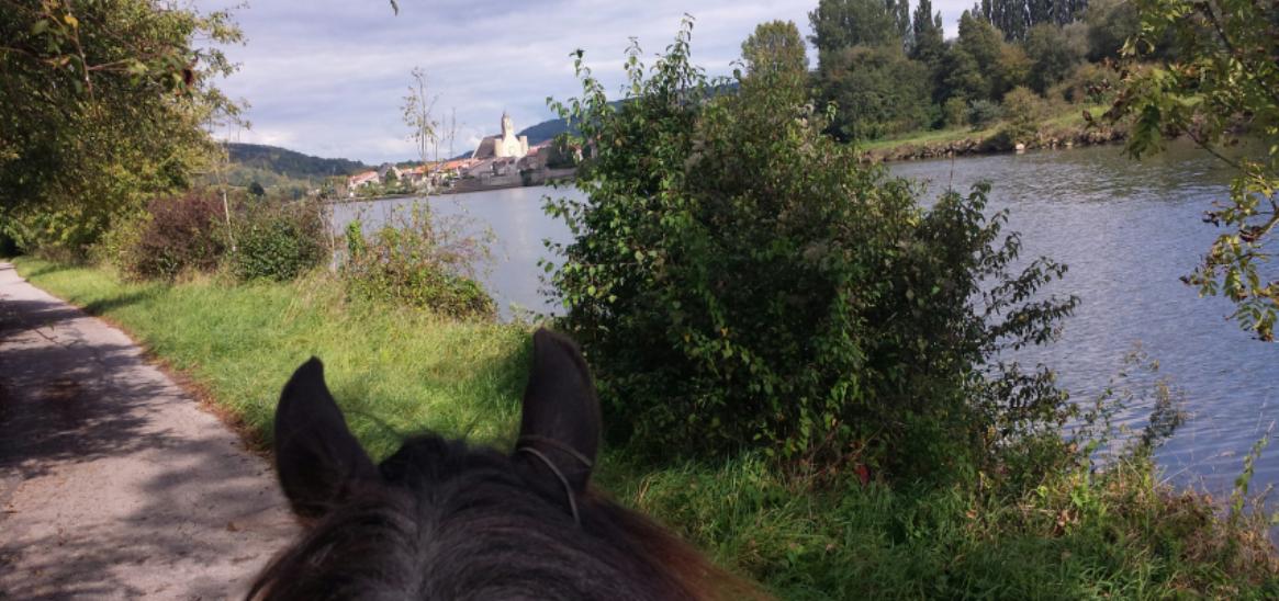 Hettange-Grande et les rives de la Moselle