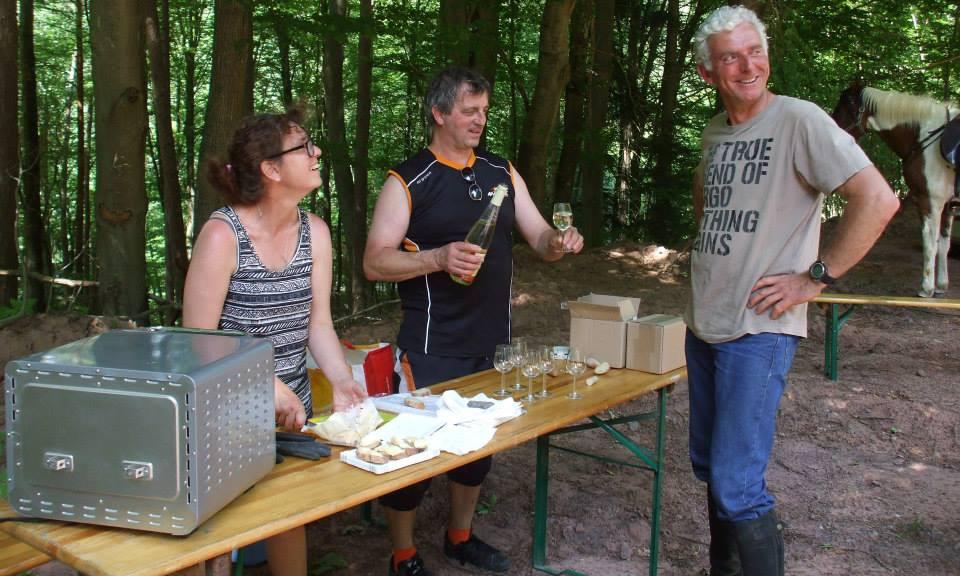 Rando Bacchus dans le PNR des Vosges du Nord en Alsace