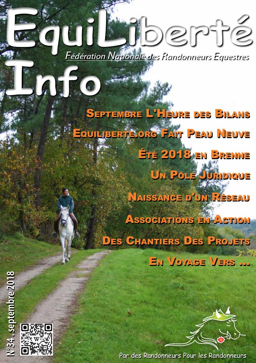 EquiLiberté Infos – Septembre 2018