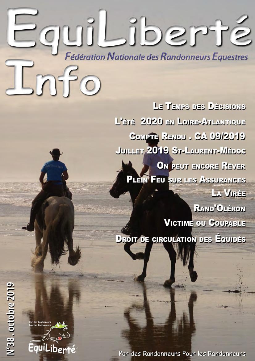 EquiLiberté Infos – Septembre 2019
